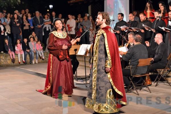 Opera u porti Lazarice