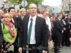 Predrag Vukićević, Srpska napredna stranka