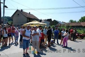 Protest stanovnika Jablanice protiv otvaranja rudnika zeolita