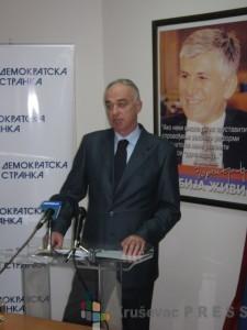 Milivoje Jevremović, Demokratska stranka