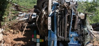 Poginuo radnik u kamionu koji se prevrnuo u Zapadnu Moravu!