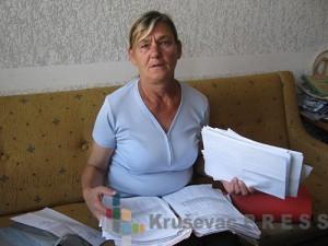 Latinka Petrović je dobila otkaz dok se nalazila na bolovanju zbog preloma ruke