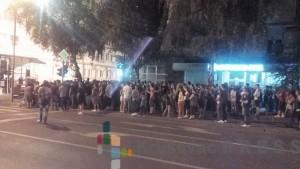 Protestni skup zbog hapšenja Gordana Raičevića - Mede