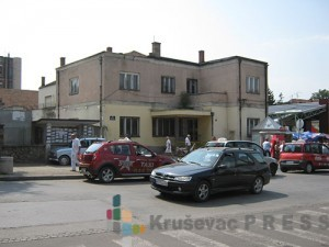 Zgrada Doma Vojske u Kruševcu