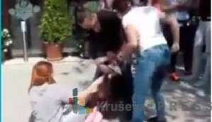 Tuča kod Hale sportova je snimana mobilnim telefonom