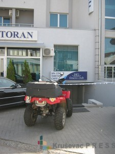 "Goran Petrović Peta je ubijen u teretani hotela ""Golf"" Foto: S.Milenković"