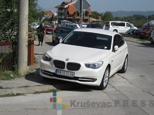 Automobil marke BMW, vlasništvo Gorana Petrovića - Pete Foto: S.Milenković