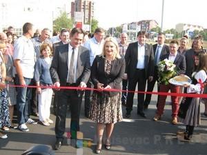 Gradonačelnik Nestorović i ministarka građevine Zorana Mihajlović otvorili su rekonstruisanu deonicu Bruskog puta