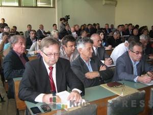 Odbornici Skupštine opštine Trstenik foto: S.Milenković