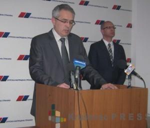 Nenad Andrić i Predrag Vukićević su suvlasnici preduzeća BNZ Higijenic foto: S.Milenković