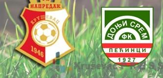 Napredak dočekuje Donji Srem u 6. kolu Prve lige Srbije
