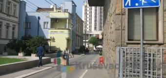Zona usporenog saobraćaja u centru Kruševca