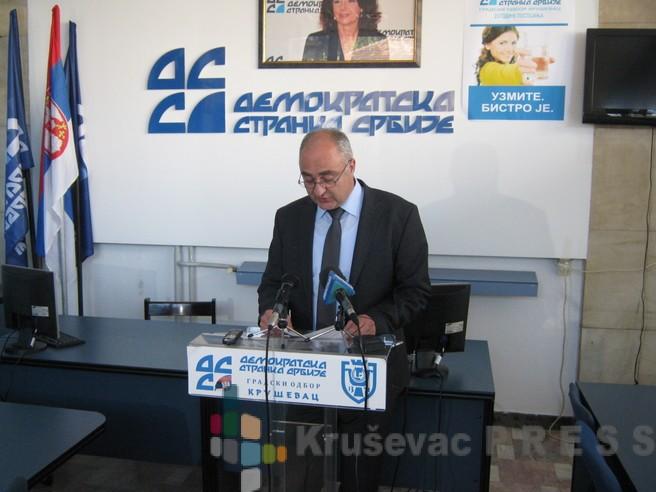 Demokratska stranka Srbije istupila iz vlasti u Kruševcu