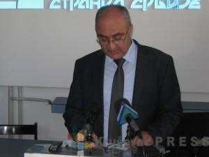 Saša Anđelković, predsednik Gradskog odbora DSS u Kruševcu FOTO: S.Milenković