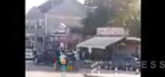 Tuča na raskrsnici Dušanove i ulice Poručnika Božidara