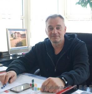 """Gordan Šljivić, vlasnik preduzeća """"Šljivić Plast"""" FOTO: S.Babović"""