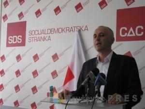 Dragan Jovanović je novi predsednik Gradskog odbora Socijaldemokratske stranke u Kruševcu FOTO: S.Milenković