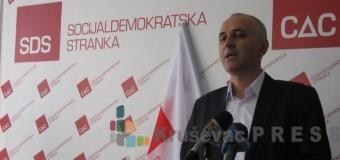 Jovanović predvodi Socijaldemokratsku stranku u Kruševcu