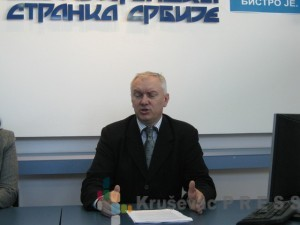 Srđan Lazić, član Gradskog odbora Demokratske stranke Srbije u Kruševcu FOTO: S.Milenković