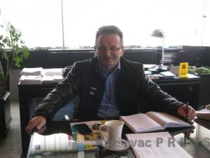 "Miloš Isailović, generalni direktor IMK ""14. oktobar"" FOTO: S.Milenković"