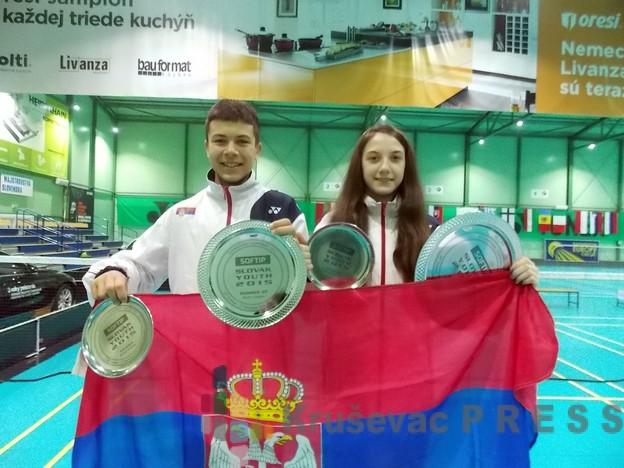 Tri medalje za Kruševljane