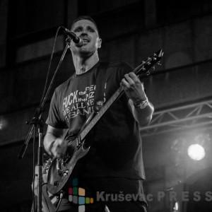 "Ivan Pelaić, gitarista i pevač rok benda ""Treća smena"""