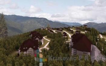 Prikaz budućeg kompleksa na Srebrncu