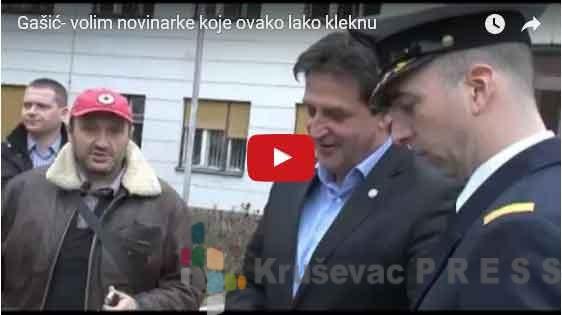 Novi gaf ministra Gašića!