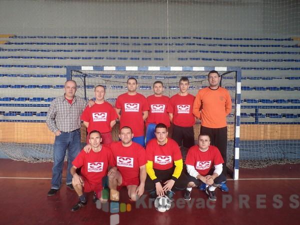 """""""Liga sindikata"""" i """"Kruševačka liga šampiona"""" u malom fudbalu"""