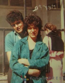 Boško i Admira su počeli da se zabavljaju u prvom razredu Gimnazije FOTO: porodični album