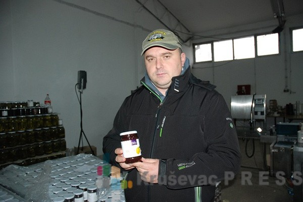 """Bojan Stanisavljević, direktor proizvodnje i glavni tehnolog """"Doline Morave"""" FOTO: S.Babović"""
