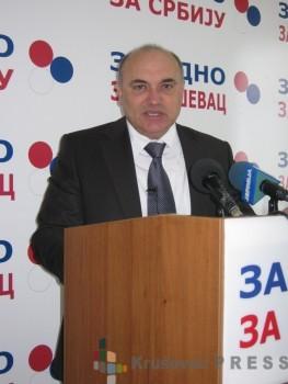 """Miodrag Đidić, šef odborničke grupe """"Zajedno za Srbiju"""" FOTO: S.Milenković"""