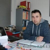 """Nebojša Devetaković, vlasnik preduzeća """"Plastik enterijer"""" FOTO: S.Babović"""