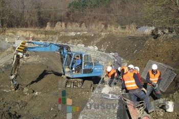 Japan pomaže sređivanje korita LJubostinjske reke FOTO: Trstenik.rs