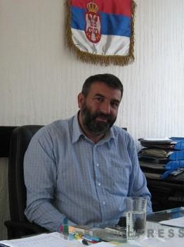 Zoran Milenković, predsednik Opštine Varvarin FOTO: S.Milenković
