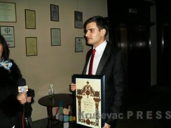 Zoran Tomić, dobitnik Svetosavske povelje za 2016. godinu