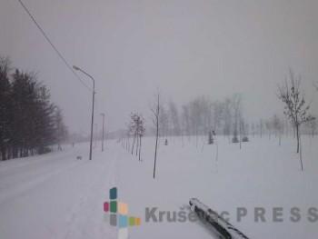 Prvi ozbiljniji sneg ove zime