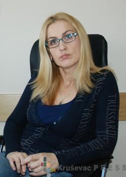 Irena Zarić, rukovodilac Službe za zaštitu dece i omladine Centra za socijalni rad FOTO: S. Babović