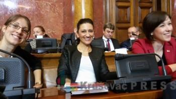 Narodne poslanice Violeta Lutovac, Dragana Barišić i Milena Turk