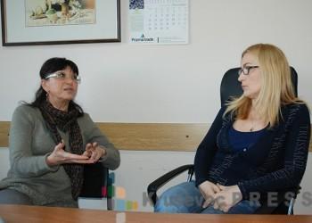 Snežana Živković i Irena Zarić iz kruševačkog Centra za socijalni rad FOTO: S.Babović