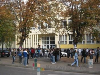 Kroz ulicu Luke Ivanovića svakog dana prođe više od 5.000 učenika FOTO: S.Milenković