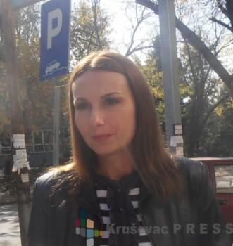Milica Đorđević smatra da je javnost više zainteresovana za problem vršnjačkog nasilja FOTO: S. Milenković