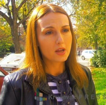 Milica Đorđević iz Školske uprave FOTO: S. Babović