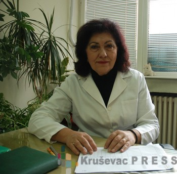 Milica Miletić, psiholog u kruševačkom Domu zdravlja FOTO: S. Milenković
