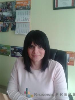Vesna Živković, koordinatorka Kancelarije za mlade Kruševac