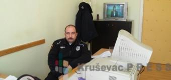 Policajac štrajkuje glađu!