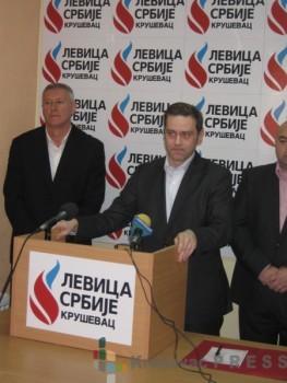 Borko Stefanović, lider Levice Srbije FOTO: S. Milenković