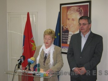 Mirjana Jevremović i dr Branislav Katančević FOTO: S. Milenković