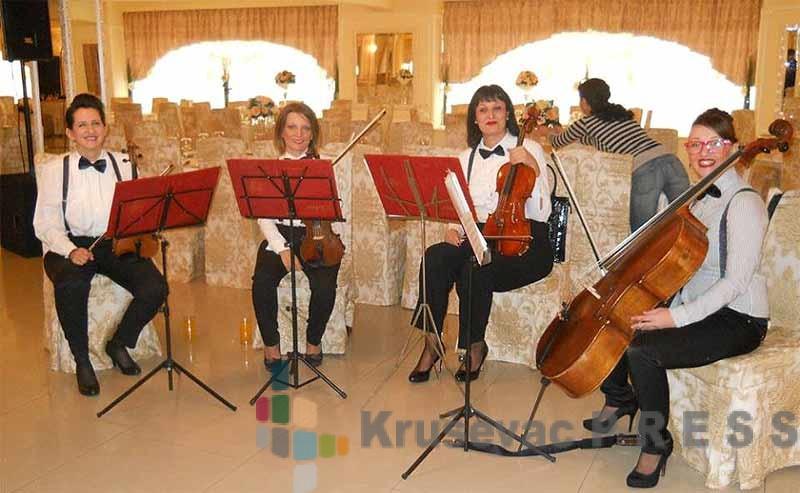 Kvartet Allegro svira u Brusu