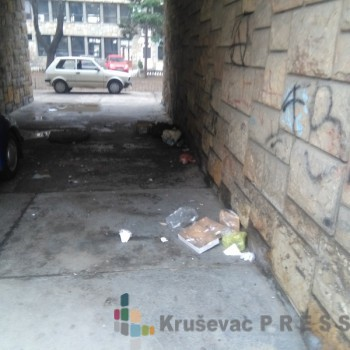 Javni toalet u centru grada FOTO: J. Marković